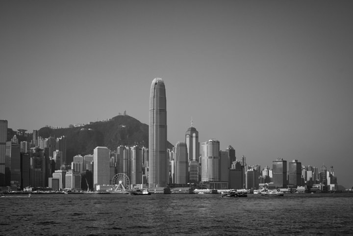 Photograph of Hong Kong Skyline 9