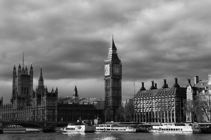 Black And White Images London