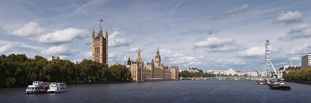 Houses of Parliament Panorama 1