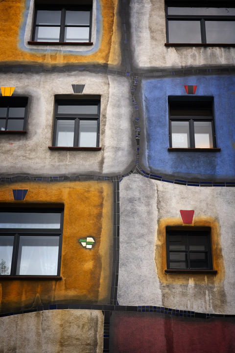 Photograph of Hundertwasser Vienna 1