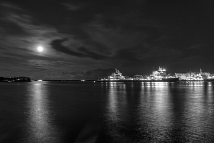 Icebreakers by Moonlight