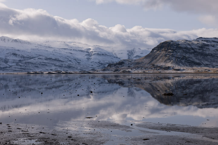 Photograph of Icelandic Lake 1