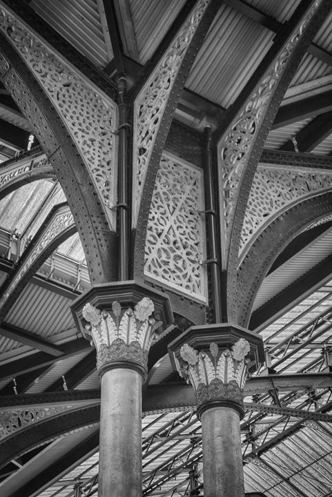 Interior Liverpool Street Station