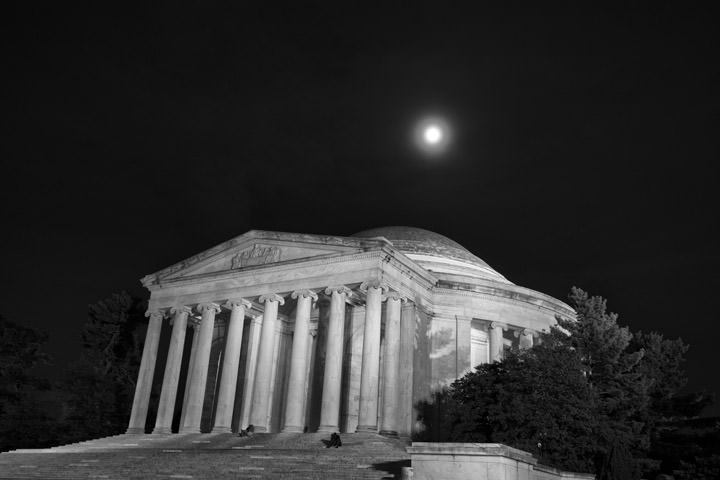 Photograph of Jefferson Memorial 3
