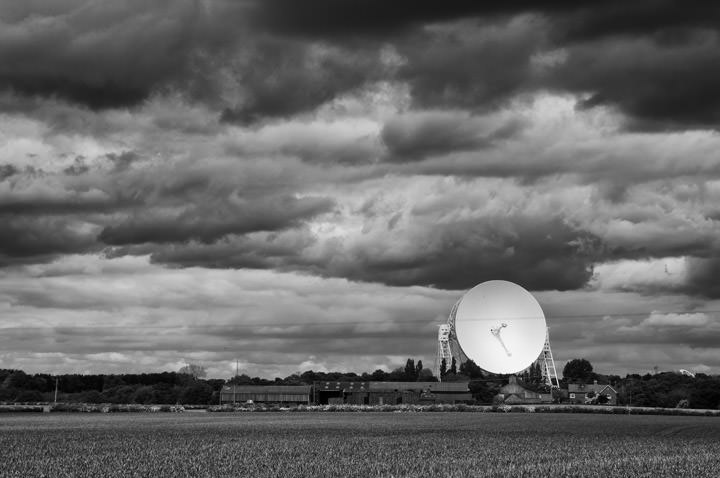 Photograph of Jodrell Bank