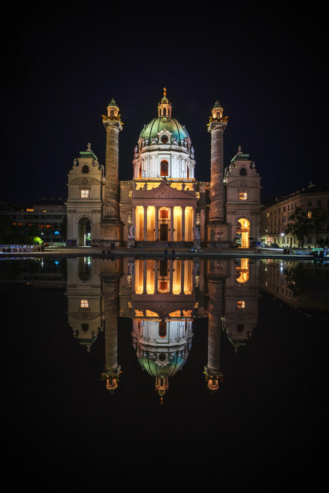 Photograph of Karl Church Vienna 1