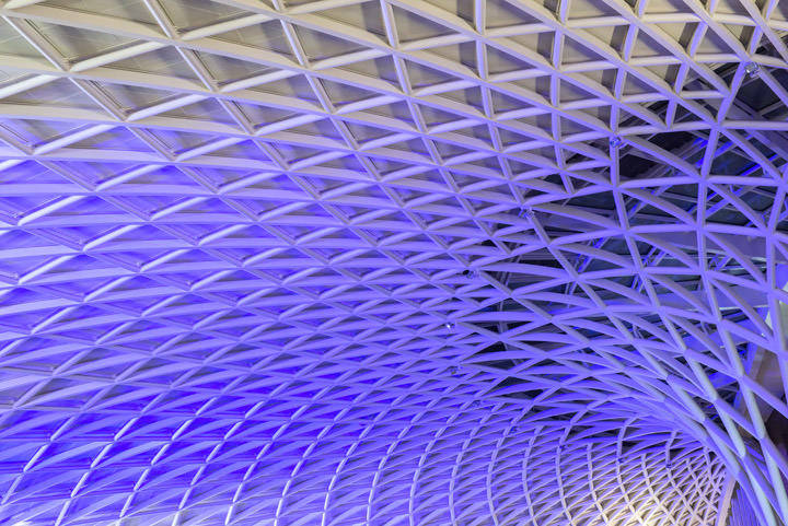 Interior Kings Cross Station | London Architectural Photos