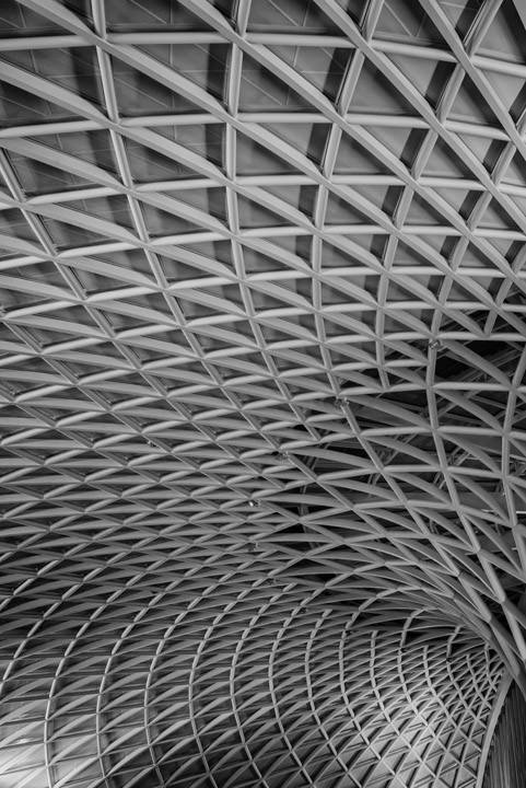 Photograph of The Interior of Kings Cross Station 2