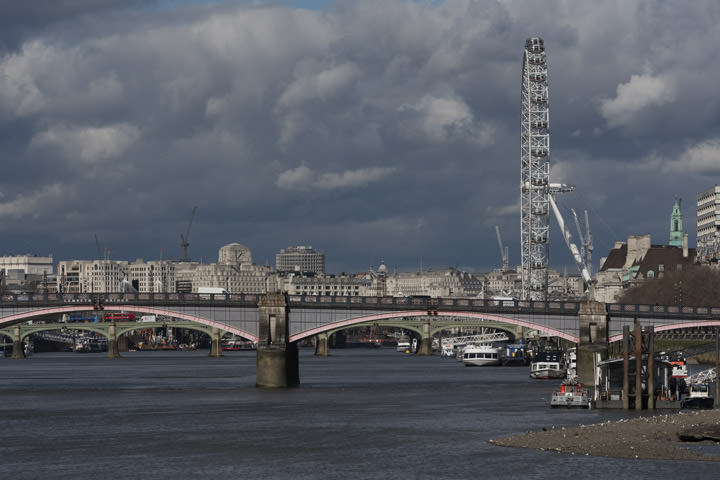 Photograph of Lambeth Bridge London Eye 1