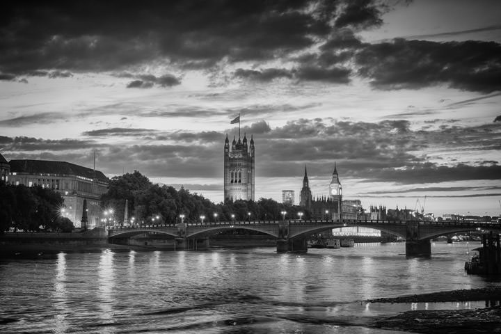 Photograph of Lambeth Bridge Skyline 1