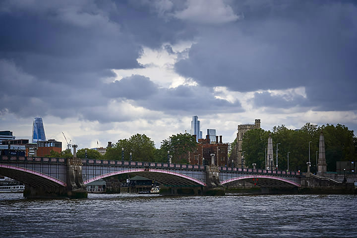 Lambeth Bridge Storm Clouds