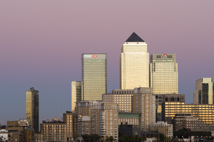 Photograph of Last Light Canary Wharf