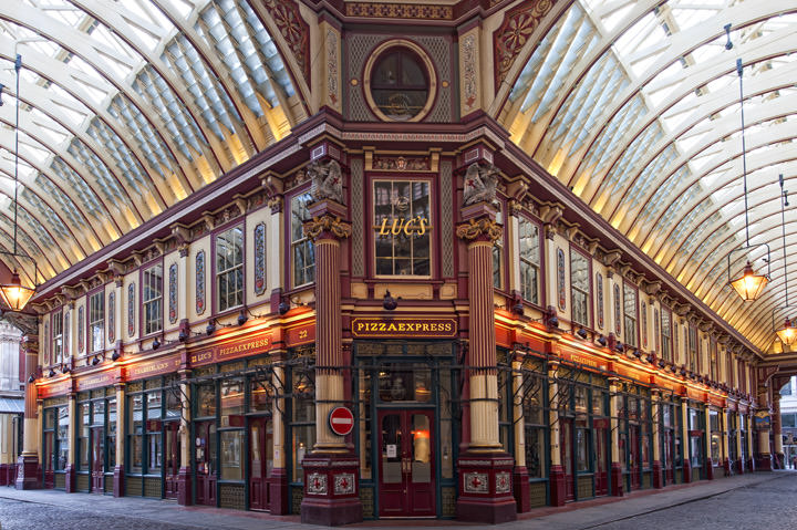Photograph of Leadenhall Market 7