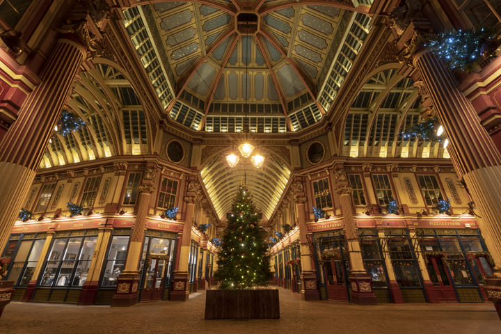 Leadenhall Market Christmas 1