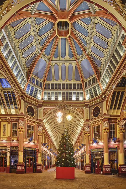 Leadenhall Market Christmas 2