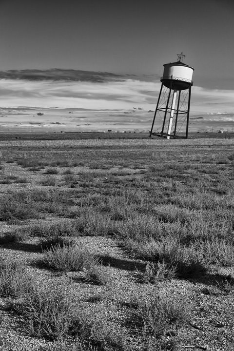 Leaning Tower  Route 66 - Groom - Texas