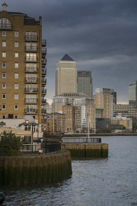 Photograph of Limehouse Canary Wharf