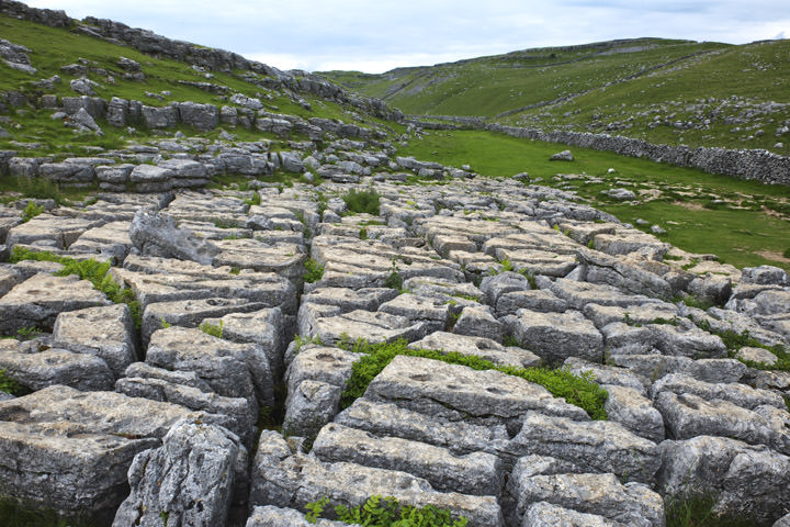 Photograph Of Limestone Pavement Malham 1 Yorkshire Dales Photography