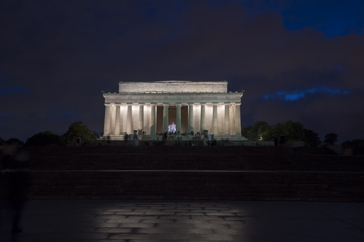 Photograph of Lincoln Memorial 1