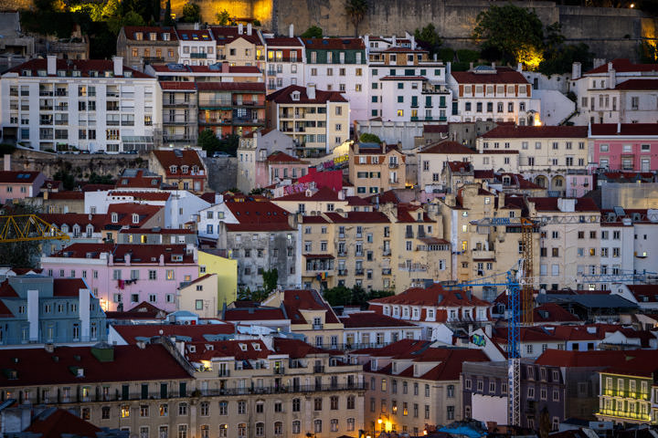 Photograph of Lisbon Houses 1