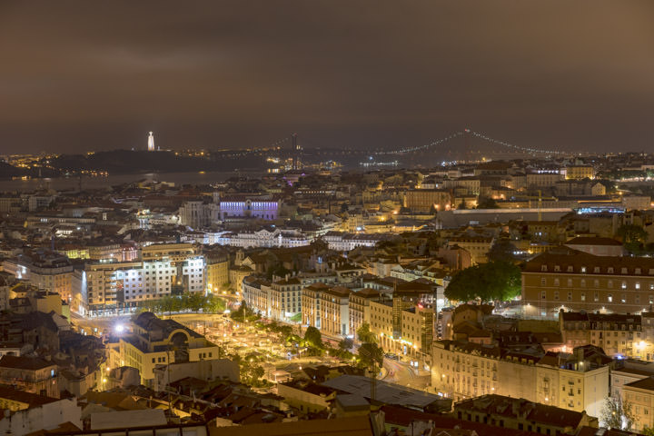 Lisbon Night View