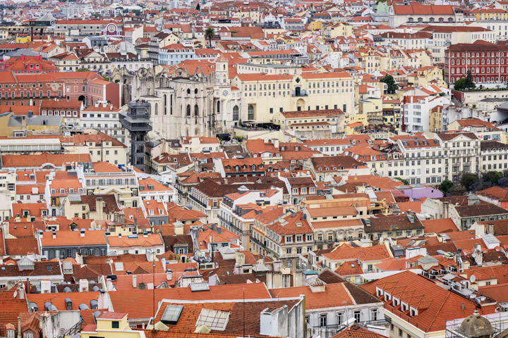 Photograph of Lisbon Rooftops 1
