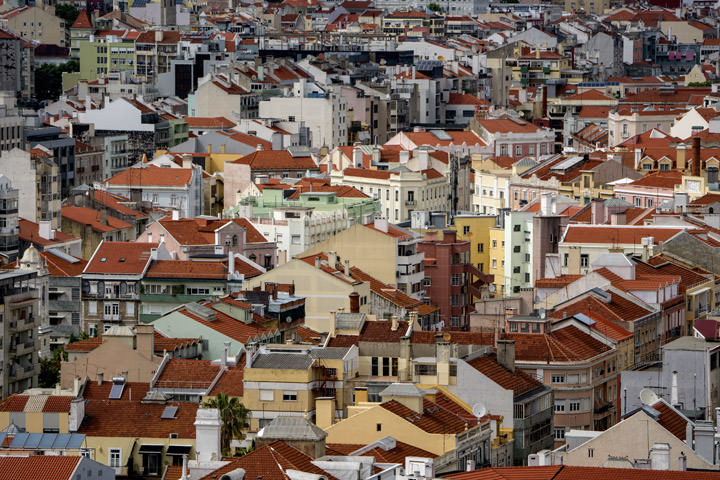 Photograph of Lisbon Rooftops 2