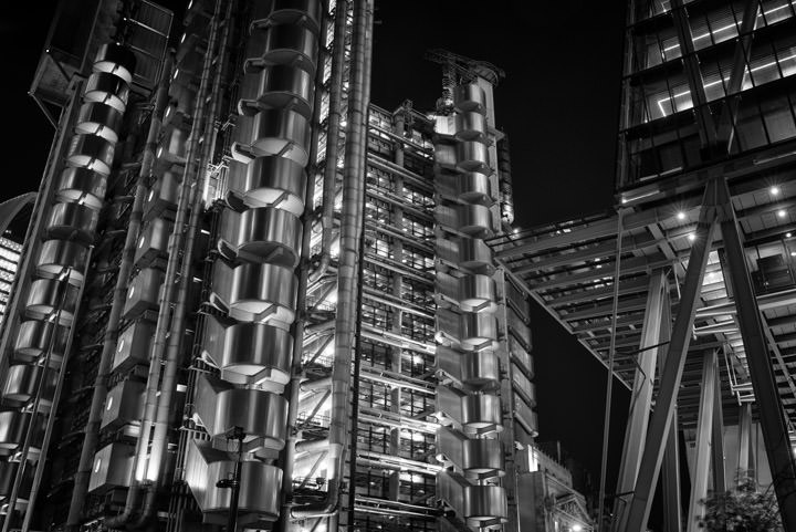 Photograph of Lloyds Building 16