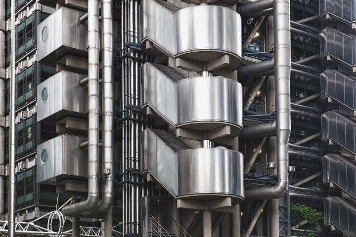 Photograph of Lloyds Building Detail
