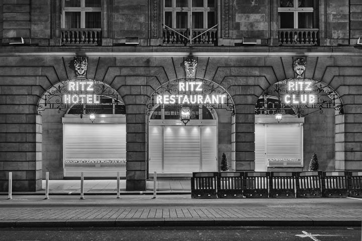 Lockdown London Ritz