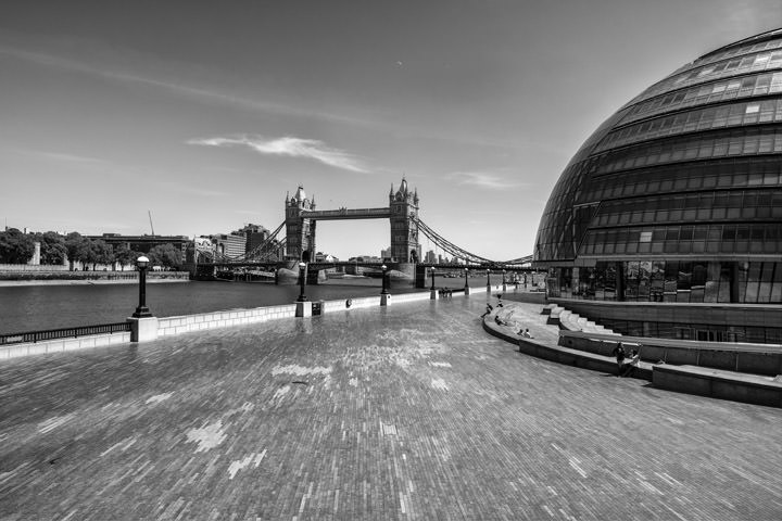 Lockdown London Tower Bridge 2