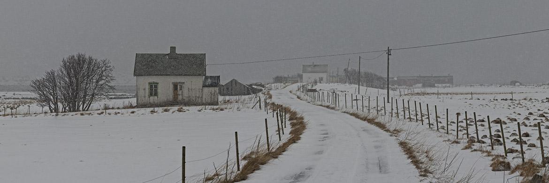 Lofotens Snowstorm