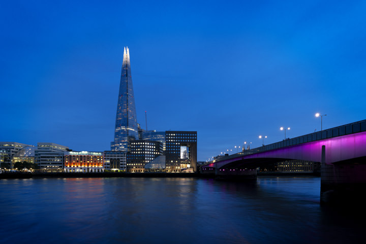 Photograph of London Bridge and Shard 4