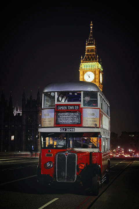 Photograph of London Bus Big Ben 2