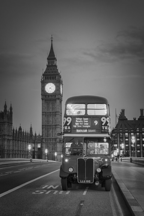 London Bus Big Ben