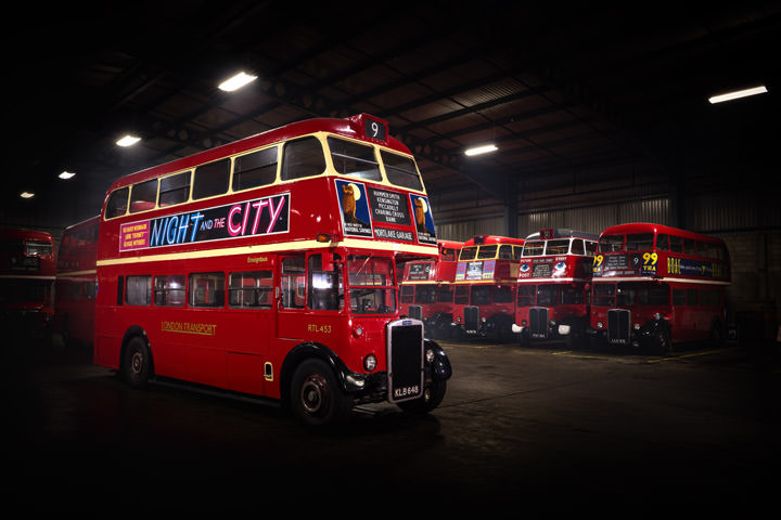 Photograph of London Bus Depot 1