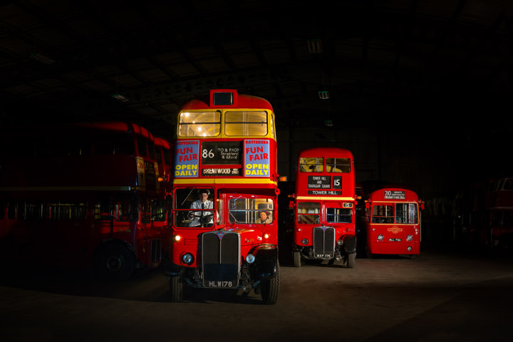 Photograph of London Bus Depot 2