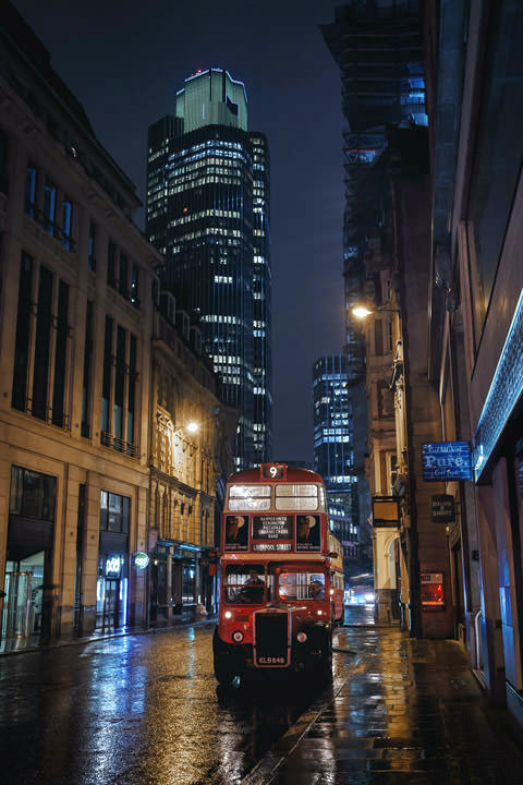 Photograph of London Bus Tower 42 1