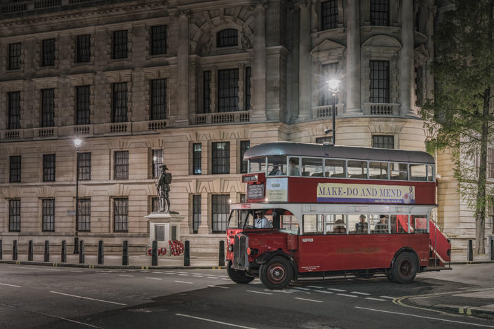 Photograph of London Bus Westminster 2