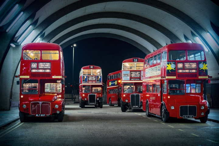 Photograph of London Buses 1
