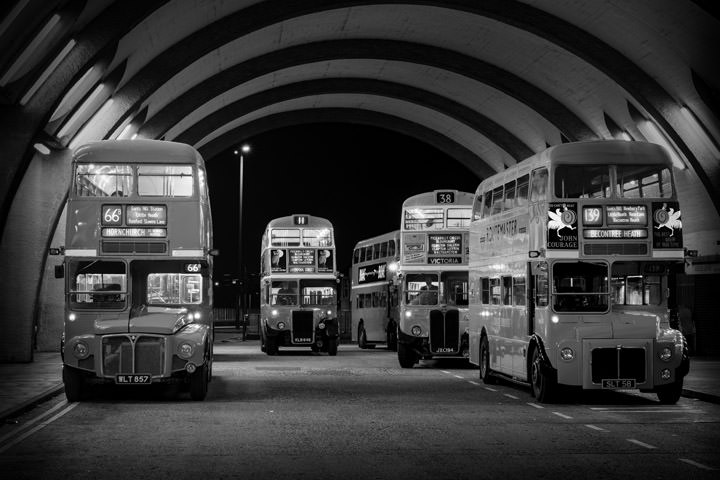 Photograph of London Buses 2