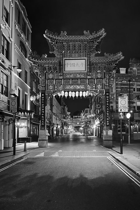 Photograph of London Chinatown 2