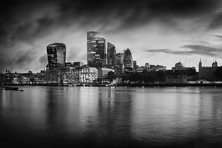 London Cityscape Dawn 3