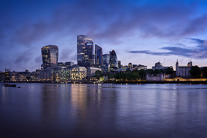 Photograph of London Cityscape Dawn 4