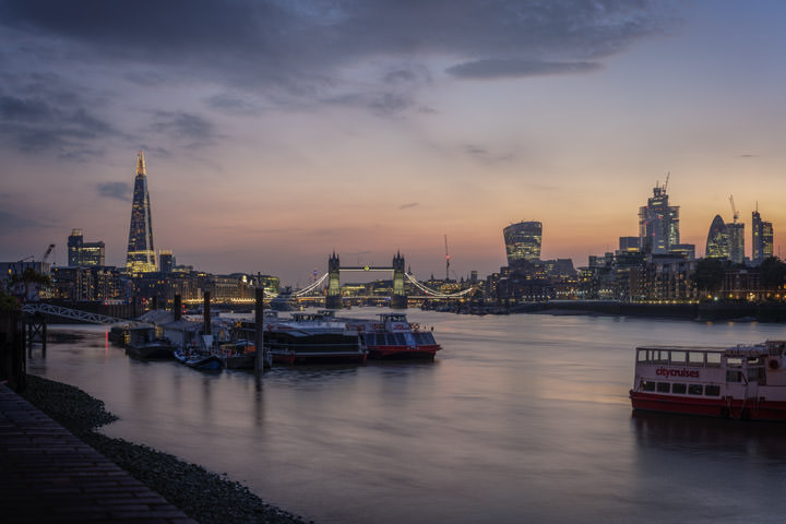 London Cityscape Dusk 1