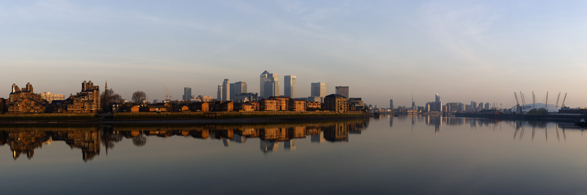 London Docklands Reflection.