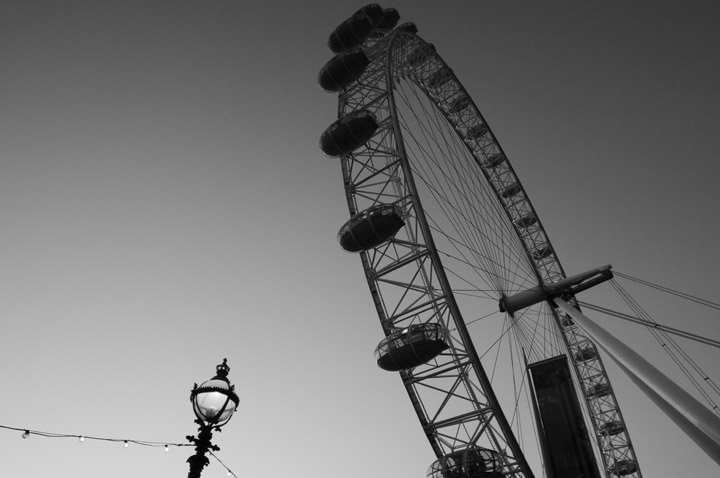 Photograph of London Eye 1
