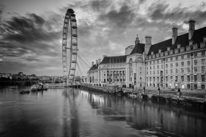 Photograph of London Eye and County Hall 4