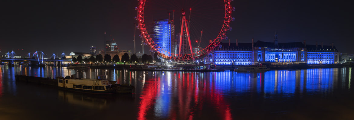 Photograph of London Eye and County Hall 6
