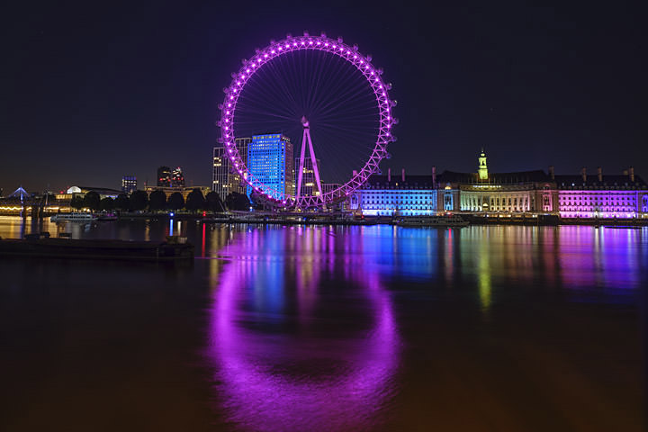 Photograph of London Eye and County Hall 7